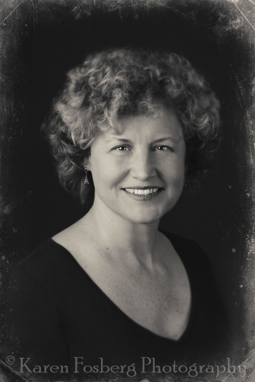headshot-female-vintage-black-white-Spokane