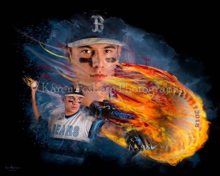 Custom Sports Portrait 1